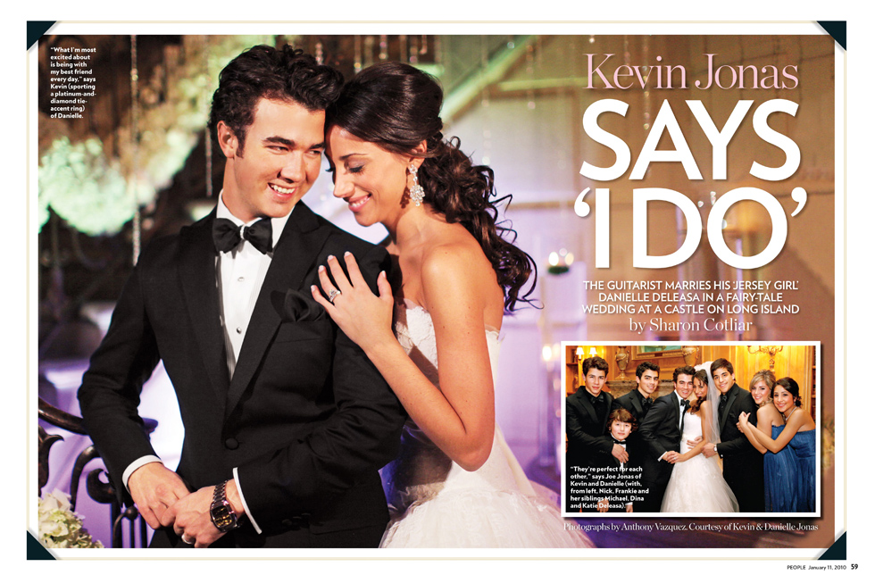 Kevin Jonas Says I Do People Magazine 2010
